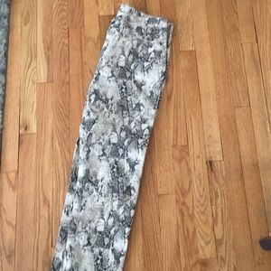 Ny and co snake skin jeans size 12